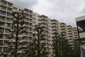 ガーデン堀ノ内住宅の外観