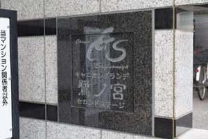 キャニオングランデ鷺ノ宮セカンドステージの看板