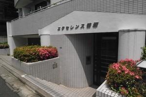 エクセレンス笹塚のエントランス