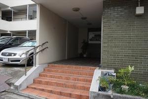 富士見台マンション(貫井3丁目)のエントランス