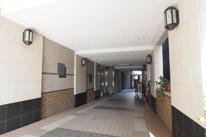 フォレストコート本郷菊坂のエントランス