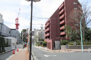 渋谷美竹ハイムの外観