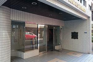 ホーユウコンフォルト蒲田のエントランス