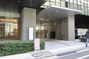 テラス渋谷美竹のエントランス