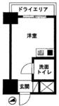 ライオンズマンション新宿第2の間取り