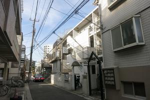 ランデン西新宿の外観