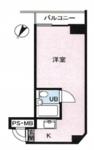 トーカン新宿第2キャステールの間取り