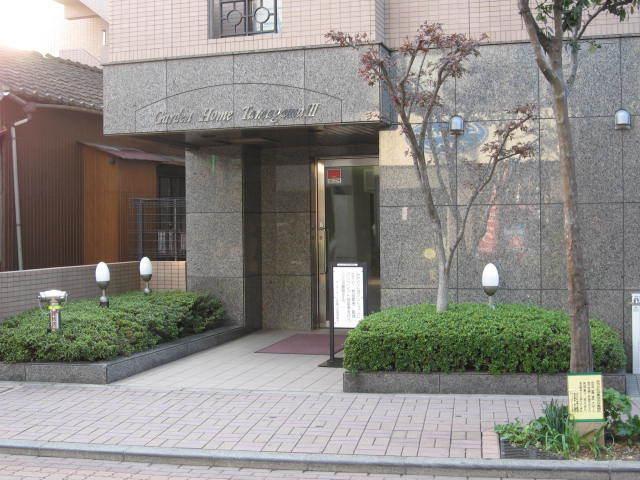 ガーデンホーム多摩川3のエントランス