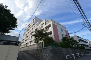 品川富士見台グリーンハイツの外観