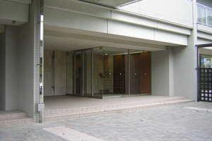 錦糸公園パークホームズシティフォートのエントランス