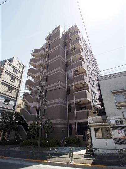 千川サニーコートの外観
