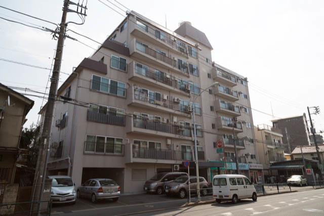 玉川台スカイマンションの外観