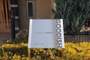 グーディッシュ東武練馬の看板