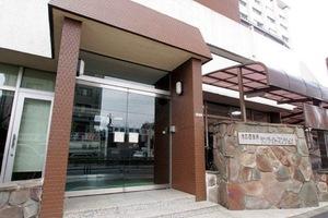 東武西新井サンライトマンションのエントランス