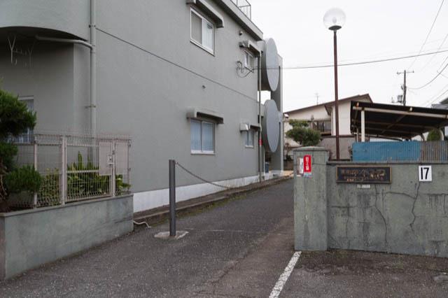 東京グランドコープスのエントランス