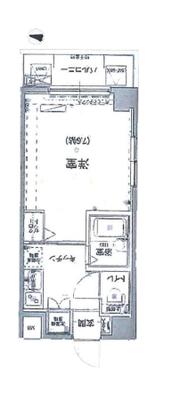 リヴシティ新宿弍番館の間取り