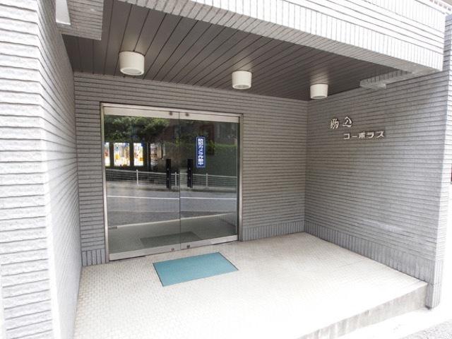 駒込コーポラス(豊島区駒込1丁目)のエントランス