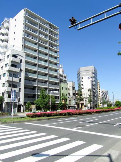 ベリスタ文京関口(新宿区)の外観