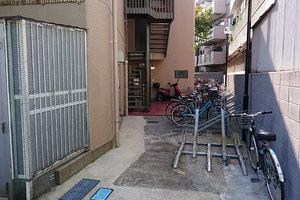 ライオンズマンション多摩川六郷のエントランス