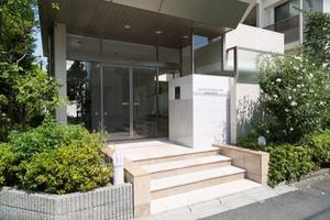 上野毛中町パークハウスのエントランス