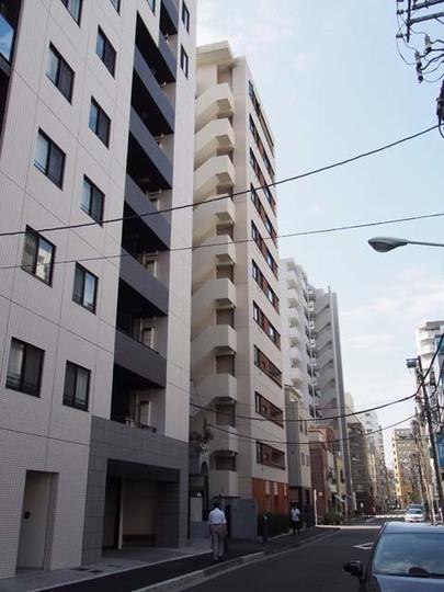 アスコットパーク東京八丁堀の外観