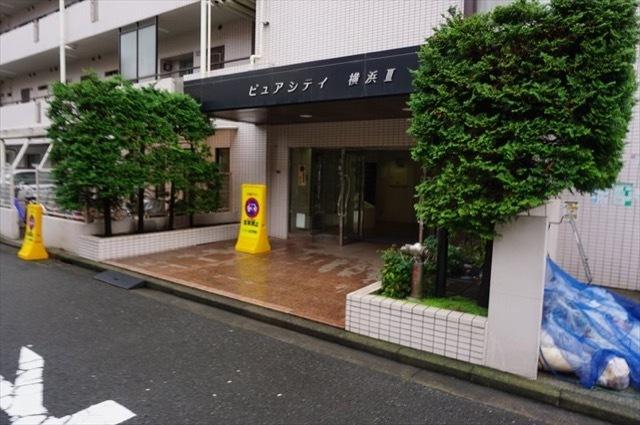 ピュアシティ横浜3のエントランス