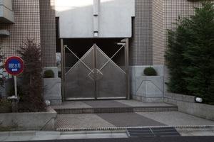 コートハウス駒沢のエントランス