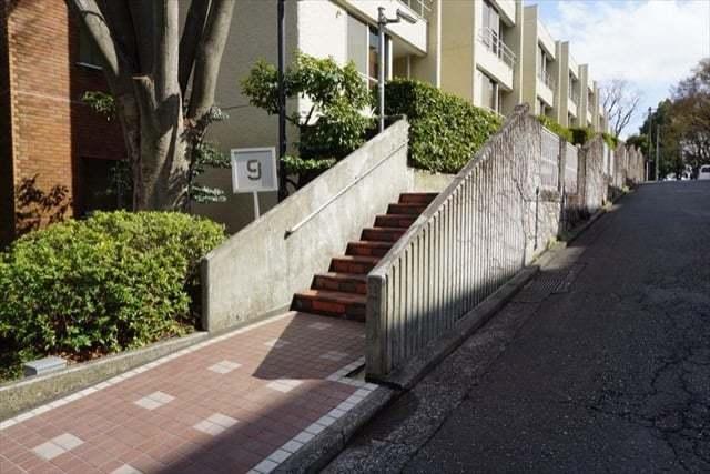 大倉山ヒルタウンのエントランス