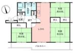 高島平第2分譲住宅19号の間取り
