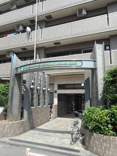 ライオンズマンション錦糸町親水公園第2のエントランス