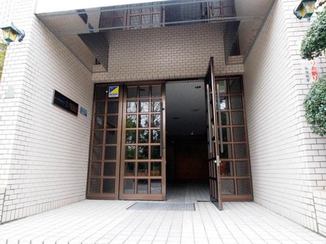 エンゼルハイム竹ノ塚第2のエントランス