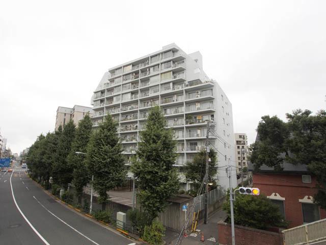 小田急目白台マンションの外観
