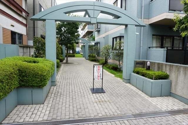 オガール川崎1番館のエントランス
