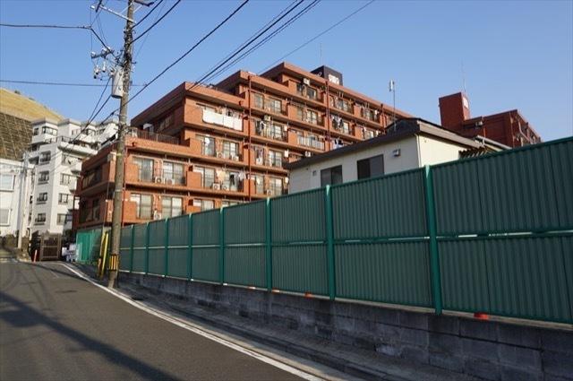 ライオンズマンション天神橋(横浜市)の外観