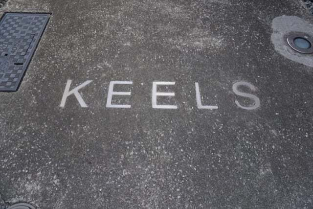 KEELSの看板