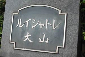 ルイシャトレ大山の看板