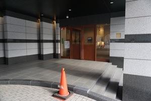 ファミールグラン三田伊皿子坂のエントランス