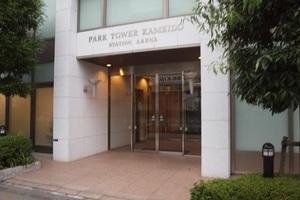 パークタワー亀戸ステーションアリーナのエントランス