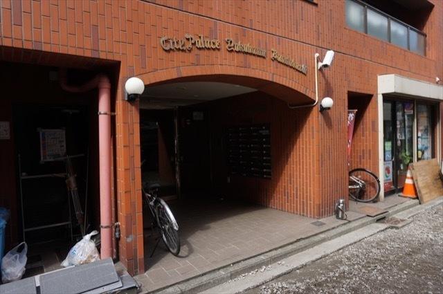 シティパレス横浜阪東橋のエントランス