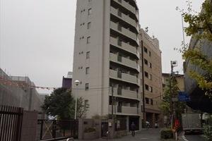 フューティバル汐留浜離宮パークサイドシティの外観