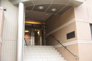 パークハウス赤塚台のエントランス