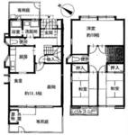 東所沢タウンハウス4号棟【メゾネットタイプ】の間取り