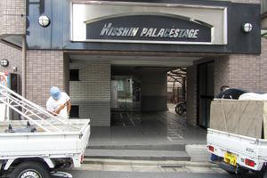 日神パレステージ南長崎のエントランス