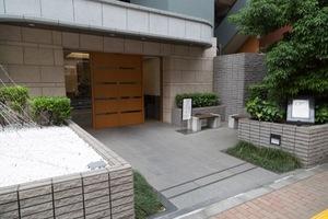 クレストフォルム桜台サウスステージのエントランス