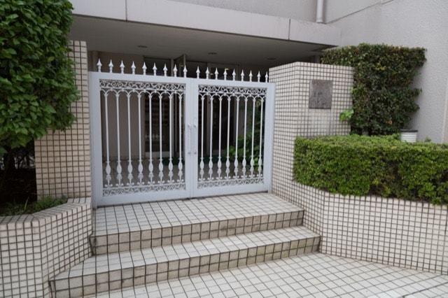 桜台ハイム(練馬区)のエントランス