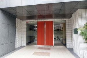 グローリオ成増赤塚公園のエントランス