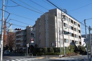 上野毛南パークハウスの外観
