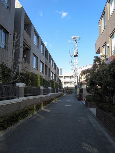 ライオンズマンション元代々木グランフォートの外観