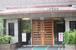 ドラゴンマンション上野壱番館のエントランス