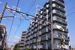 ライオンズマンション森田多摩川の外観